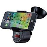 farsler FM09Multifunktions KFZ Bluetooth FM Transmitter KFZ-Ladegerät MP3-Player FREIHÄNDIGER integrierter Akku mit Halterung für Handy iPad