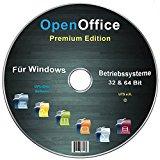 Open Office Premium Edition für Windows 8-7-Vista-XP (32 & 64 Bit)