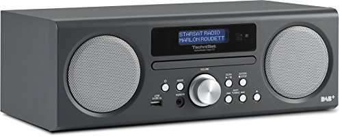 TechniSat TechniRadio Digit CD - Digitalradio (10 Watt RMS, DAB+, DAB, PLL-UKW Tuner, CD/MP3 Player, USB) anthrazit