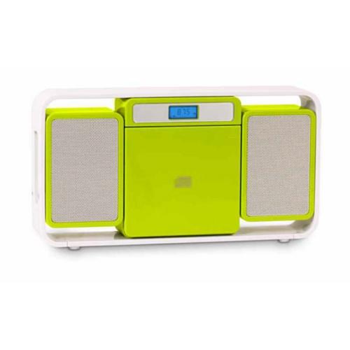 BigBen Micro-Kompaktanlage MCD10 Kids Grün