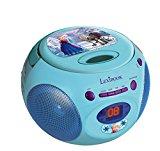 LEXIBOOK RCD102FZ Boombox Die Eiskoenigin Disney Frozen Toploading CD Player AM/FM Radio