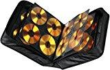 Hama CD Tasche für 304 CDs/DVDs/Blu-rays, mit Mikrofaser Pflegetuch, Mappe zur Aufbewahrung, schwarz