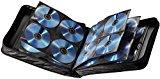 Hama CD Tasche für 160 CDs/DVDs/Blu-rays, Mappe zur Aufbewahrung, schwarz