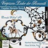 Vergessene Lieder der Romantik, vol. 1