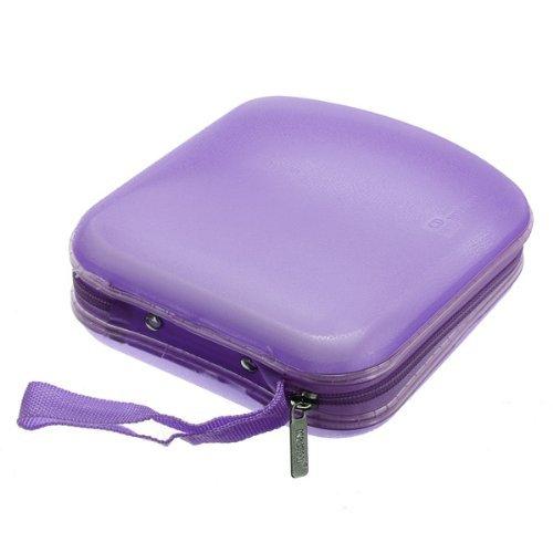 Tragetasche / Schutzetui für 40 CDs / DVDs (zur Aufbewahrung von Datenträgern geeignet, z.B. für DJs) violett violett Einheitsgröße