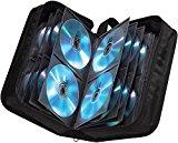 Hama Basic 120 CD DVD Blu Ray Tasche Wallet für 120 CDs DVDs BluRays, schwarz