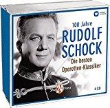 100 Jahre Rudolf Schock – Die besten Operetten Klassiker (4 CDs)