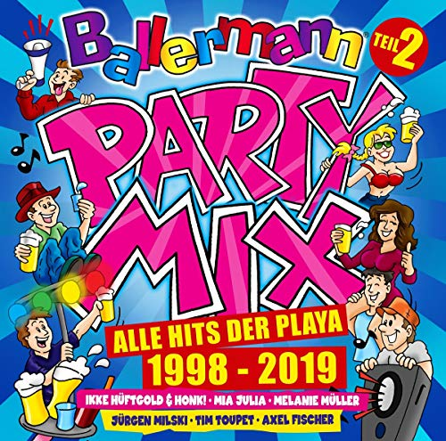 Ballermann Party Mix-Alle Hits der Playa 1998-2019