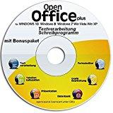 Open Office Spezial Edition 2017 für Windows 10 Win 8 Win 7 Vista XP | PC-Software | Alternative zu Microsoft Office | Kompatibel mit Word, Excel und PowerPoint