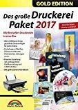 Das große Druckerei Paket 2017 Einladungen, Etiketten, Glückwunschkarten, Visitenkarten, CD/DVD Druckerei - 50.000 ClipArts und 5.000 lizenzfreie Fotos