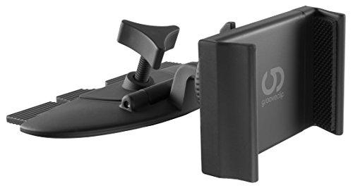 Die neue CD-Schlitz KFZ-Halter Generation! grooveclip® CD2 Slider - die geniale Idee weiterentwickelt - Jetzt mit eleganter Slider-Technologie | Made for Smartphone, Handy, Navi / GPS