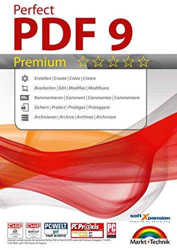 Perfect PDF 9 Premium Edition - mit OCR Modul - PDFs erstellen, bearbeiten, konvertieren, umwandeln, schützen, Kommentare hinzufügen, Digitale Signatur einfügen   100% Kompatibel mit Adobe Acrobat