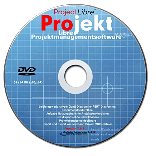 LIBRE Project 2016 Professional Vollversion deutsch (auf DVD) Projektplanungstool