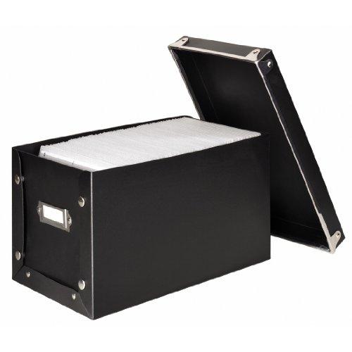 Hama Media Box 140 für bis zu 140 CDs schwarz